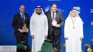 أحمد بن محمد يشهد ختام فعاليات مؤتمر دبي الرياضي الدولي