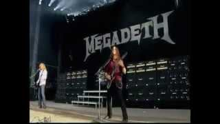 Megadeth - Public Enemy No.1 - Download Festival 2012 ||
