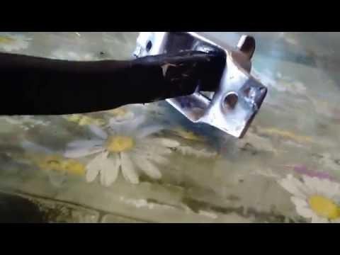ремонт ограничителя  двери тойота рав4