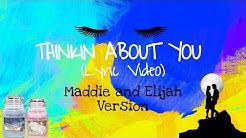 Thinkin About You (Lyric Video) | Cospe | Maddie & Elijah | Electro Music