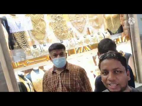 Gold Souk Deira Dubai.  Gold's festival
