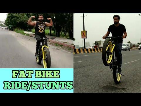 #bicycle #stunts #delhi  Fatboy (Bicycle) vlog