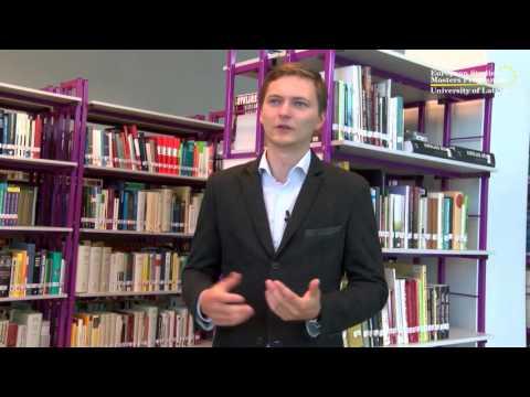 European Studies Masters Programme Introductory Video