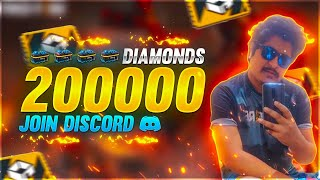 Free Fire Live New Event 20,000 Diamond Join Discord - Garena Free Fire