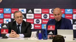 Zidane anuncia su marcha del Real Madrid
