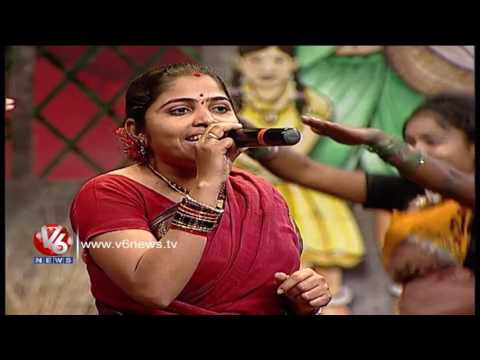 Putta Meeda Paala Pitta Song | Telangana Folk Songs | Dhoom Thadaka | V6 News