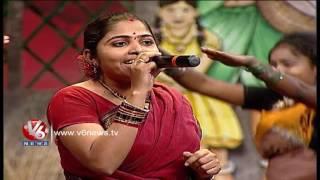 putta meeda paala pitta song telangana folk songs dhoom thadaka v6 news