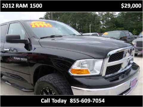 2012 ram 1500 used cars cullman al youtube. Black Bedroom Furniture Sets. Home Design Ideas