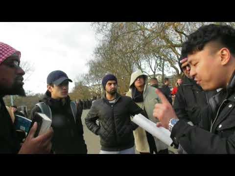 Muslim Zakariah vs Bruce Lee Buddhist Tan (p1) Speakers Corner - Youtube -