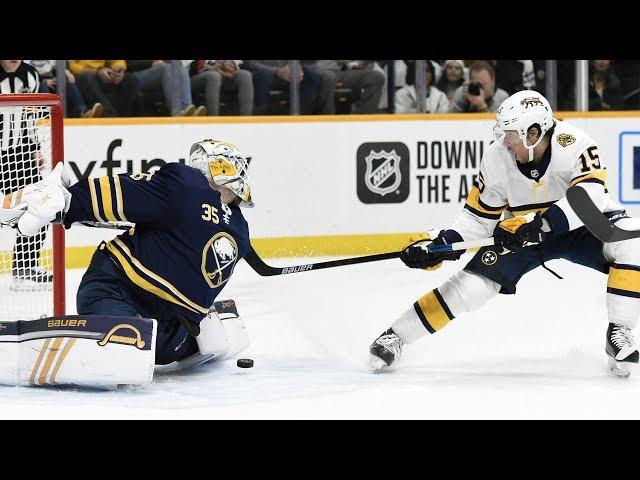 NHL Highlights | Sabres vs Predators - Jan. 18, 2020