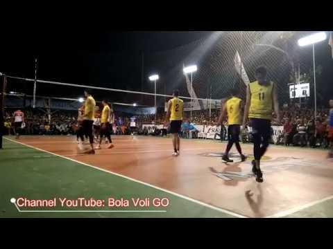 FINAL SET 2 Rivan Nurmulki, Agung Seganti CS vs Yoga, Endy CS Rajawali Cup 2017