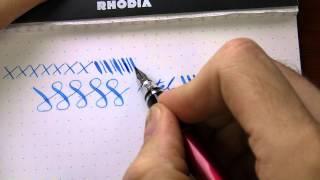 Writing with Pilot/Namiki Falcon Soft Extra-Fine Fountain Pen