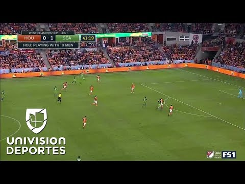 ¡GOL! Will Bruin | Houston Dynamo 0-2 Seattle Sounders | MLS Playoffs