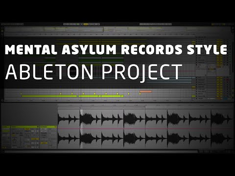 Energetic Uplifting Ableton Project (Mental Asylum Records Style)