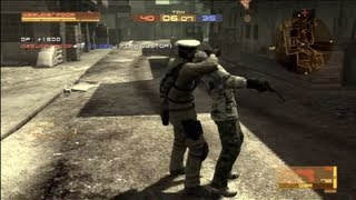 Metal Gear Online - Team Deathmatch - Midtown Maelstrom