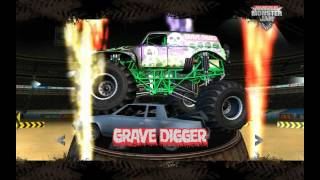 Monster Jam Gameplay PC Freestyle GraveDigger (MAX SETTINGS)