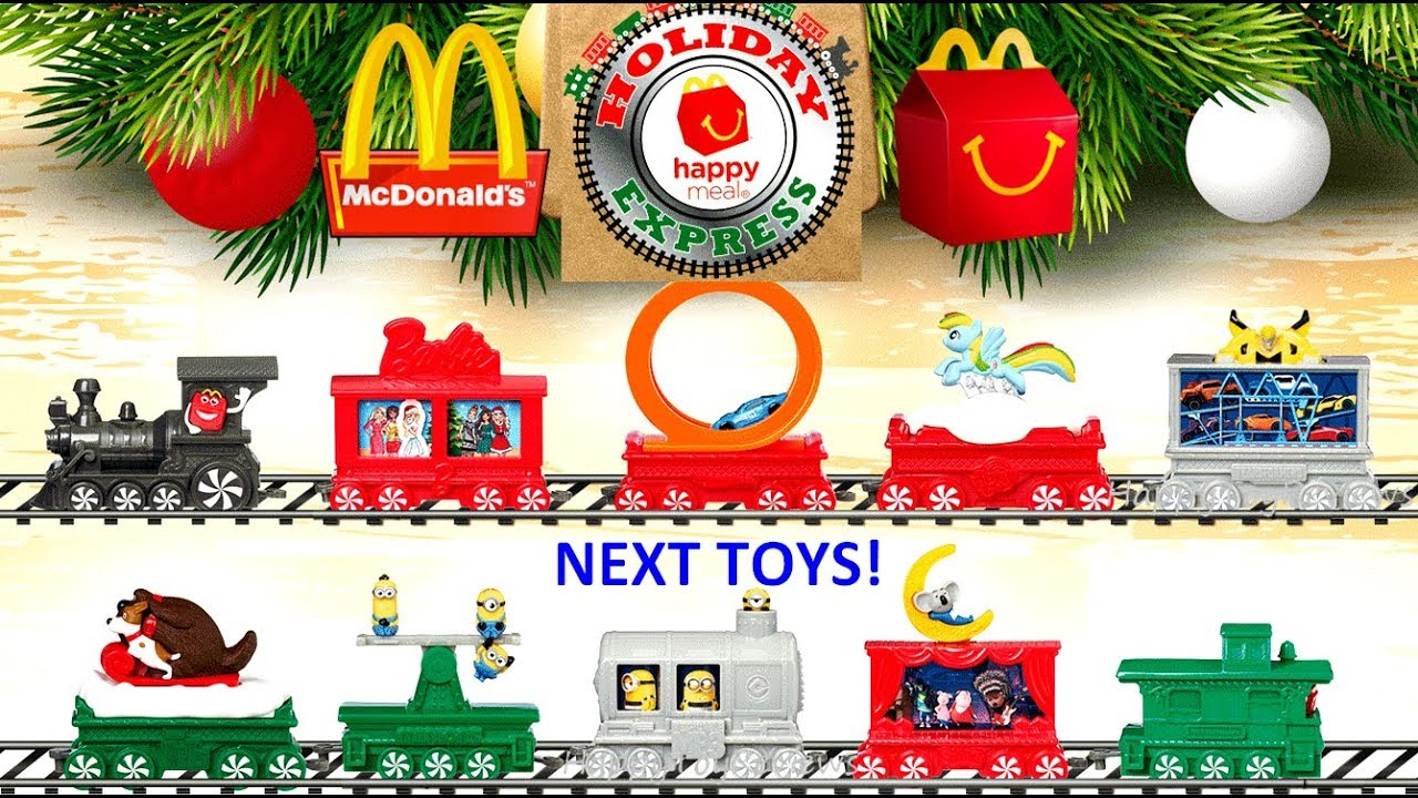 2017 Next Mcdonalds Happy Meal Toys Super Mario Holiday Express