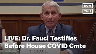 Dr. Anthony Fauci Testifies Before Congress on the COVID-19 Pandemic | LIVE | NowThis