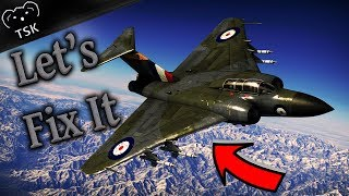 The WORST Plane in the ENTIRE GAME!!! - Javelin F.(A.W.) Mk.9 - Gaijins Failure - (War Thunder)