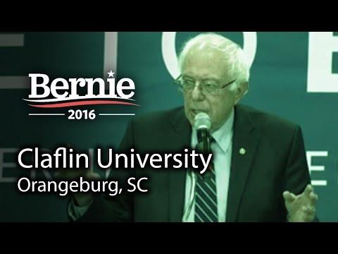 Bernie Sanders @ Claflin University in Orangeburg, SC (Feb 26) *Recorded Livestream*