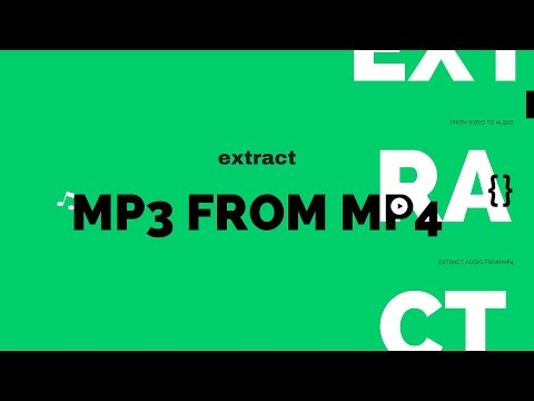 Extract The Audio From Video Files And Save As MP3 - Ubuntu/Linux Mint