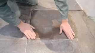 Ремонт напольной плитки ч.2