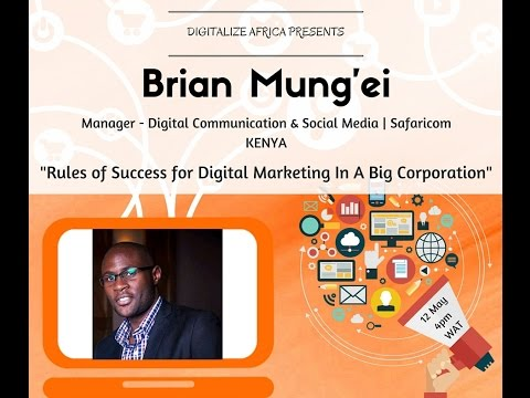 Digitalize Africa: Rules for Succes in Digital Marketing at a Big Corporation