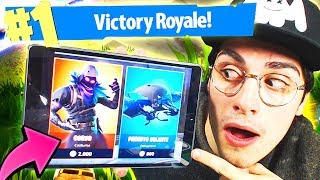 SHOPPO le CORVO et REAL VITTORY! FORTNITE MOBILE