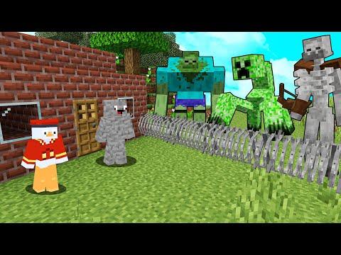 ÜBERLEBEN WIR DIE 3 MUTANT MONSTER in Minecraft ?!