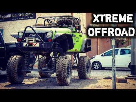 Most Modified Jeep Wrangler Ever | EXTREME Off Road Vehicle | Advance Modification