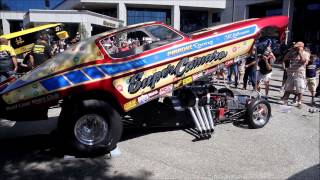 Dead mans Curve Hot Rod Weekend Bash Video 2015