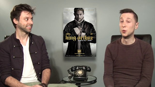 Mixed Review of King Arthur with Nick PLUS a Mystery Intruder