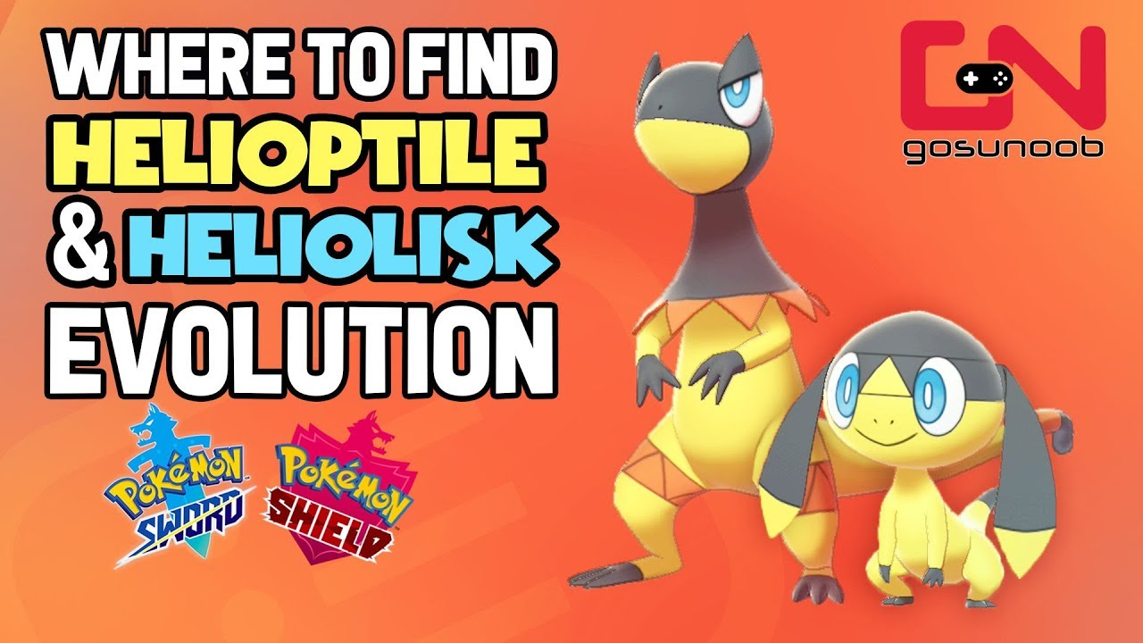 Helioptile Evolution – 8 go battle league team builds: