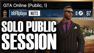 EASIEST WAY to Make a Solo Public Session in GTA Online (PS4) | Biker and CEO Sell Missions