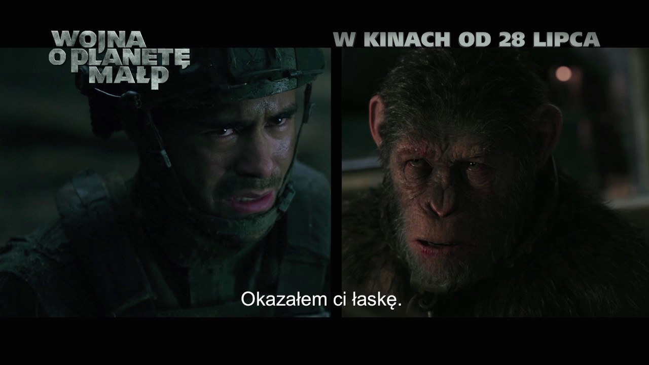 Wojna o planetę małp | TV Spot [#4] | 2017