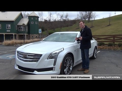 Review 2017 Cadillac CT6 3.0TT Platinum