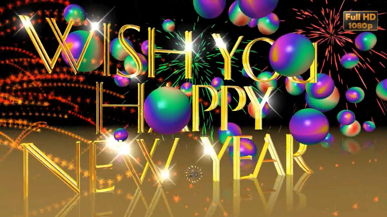 Happy New Year 2019, Wishes,Whatsapp Video,New Year ...