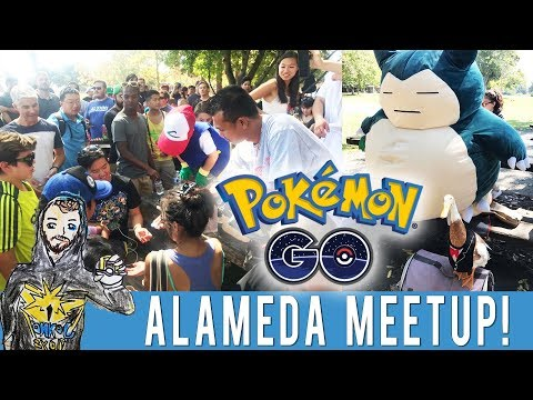 CRAB COVE ALAMEDA MEETUP! Epic Meetup with 350+ Trainers! Pokemon Prizes & Lure Party! Raikou Raids!