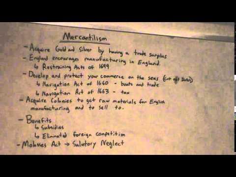 Header of mercantilism