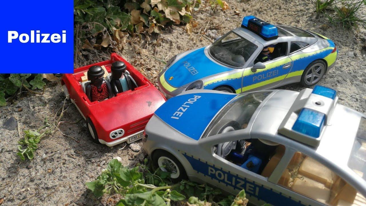 playmobil polizei feuerwehr krankenwagen  die fette beute