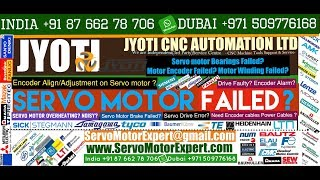 CNC Turning Machining Motor Repair, Servo troubleshooting, Drive Parameter, Repair Servo Motor Fault
