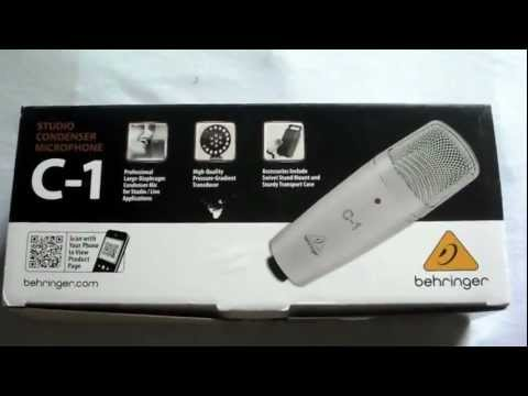 Review Microfone Behringer C-1