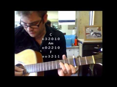 """How to play """"Same Love"""" by Macklemore and Ryan Lewis on acoustic guitar (Made Easy)"""
