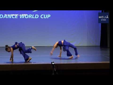 Dance World Cup  Finals  Mini Duet Modern Contemporary  Smrithi & Hana  D4U
