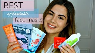 BEST AFFORDABLE FACE MASKS