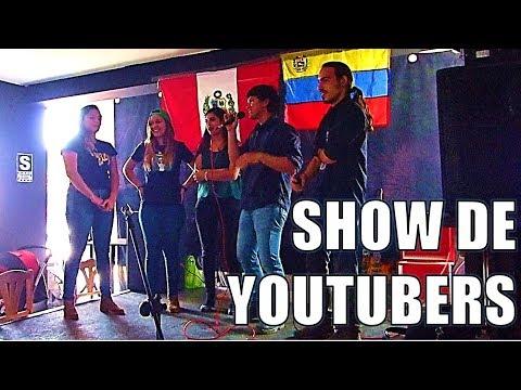 Show de youtubers en Comas Venezolanos en Peru