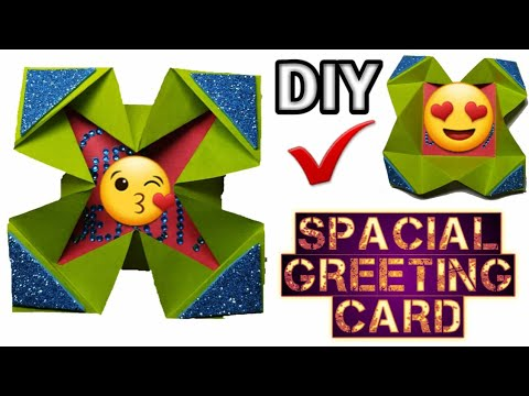 How to make Attractive Greeting Card | Custom Thank You Cards | Homemade Craft with GOLU