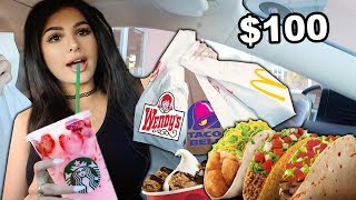 Download Letting The Person in FRONT of Me DECIDE What I Eat for 24 HOURS Mp3 and Videos