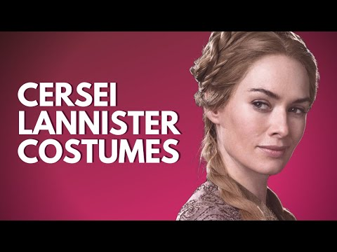 The Costumes Of Cersei Lannister Season 1-5 (Game Of Thrones #1)