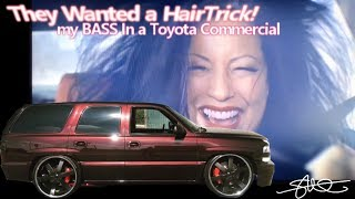 They Wanted a Hairtrick. My BASS in a Toyota Commercial (Aired during NFL Game!)